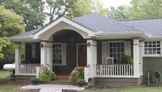 Home Exterior Design With Pillars Exterior Nice Home Exterior Design With Front Porch