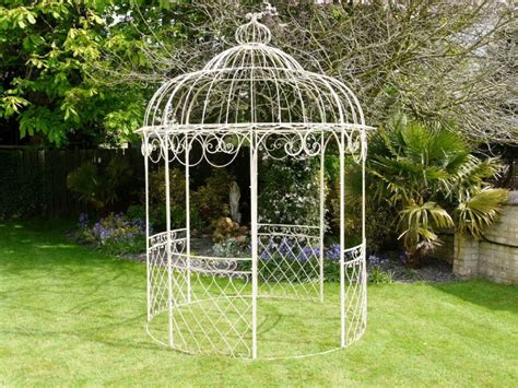 Iron Gazebo Garden Treasures Wrought Iron Garden Gazebo Uk Garden