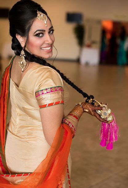 punjabi grls suit long hair 11 best images about paranda hairstyle on pinterest