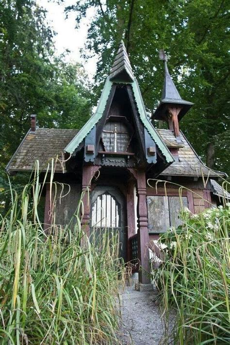 Cottage Witch by Witch Cottage Houses
