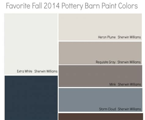 pottery barn 2014 paint colors ideas sherwin williams 2013 color of the year vintage moxie