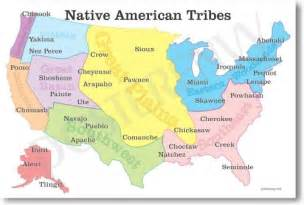 colorado american tribes map american map