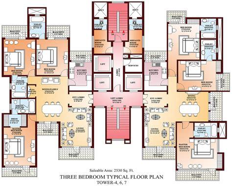 parsvnath la tropicana   bhk  residential