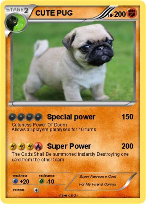 pug power pok 233 mon pug 5 5 special power my card