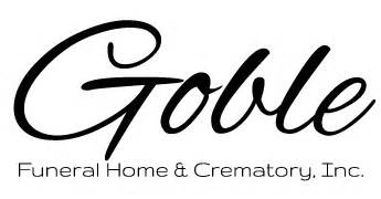 goble funeral home crematory inc clarion pa