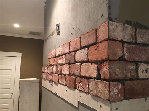 Fireplace Tile Brick by Reclaimed Brick Tile