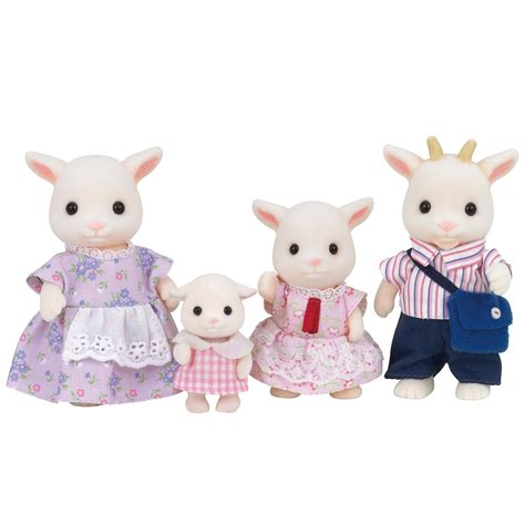sylvanian families goat family set 163 18 00 hamleys for toys and
