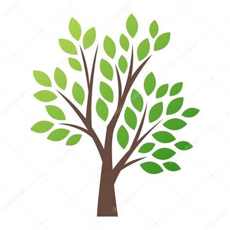 clipart albero stylized vector tree logo icon stock vector 169 adekvat
