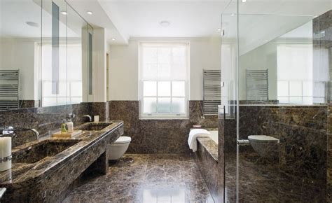 using marble in bathrooms sophisticated bathroom designs that use marble to stay trendy