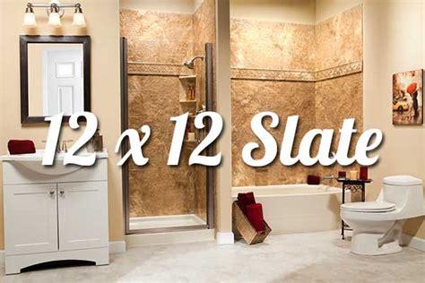 bathroom wall solutions 12x12 slate bathroom walls liberty home solutions llc