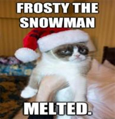 Frosty The Snowman Happy Birthday Meme - have a happy sunday grumpy cat meme see funny images