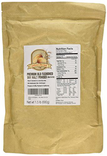 Diastatic Malt Powder 1 Lb cooking baking malt diastatic powder 1 5lbs by