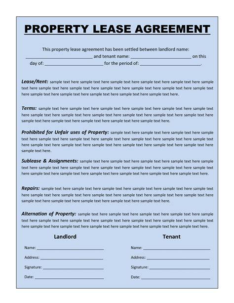 doc 600769 rental agreement word document free texas