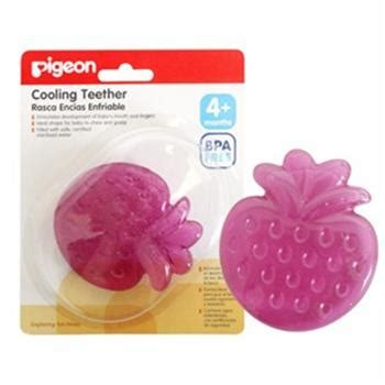 Pigeon Baby 60 Gram pigeon cooling teether strawberry baby pacifiers and