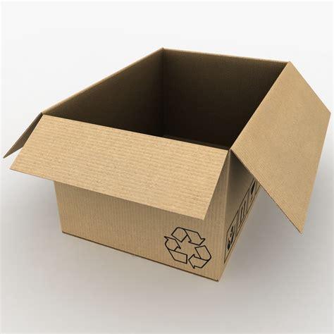 Box Rr Cardboard Box Open Max