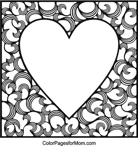 coloring pages adults hearts free coloring pages of adult with hearts