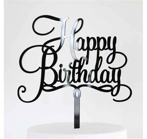 Caketopper Cake Topper Happy Birthday L happy birthday acrylic cake topper large lollipop cake supplies
