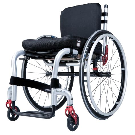 Light Weight Wheel Chair Quickie Q7 Rigid Wheelchair Pme Group