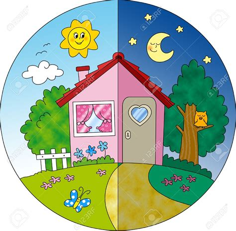 bambini immagini clipart house clipart time pencil and in color house