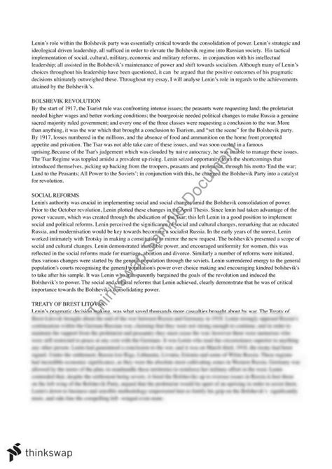 Russian Revolution Essay by Russian Revolution 1917 Essay The Russian Revolution Lenin S New Economic Policy Nep And Was