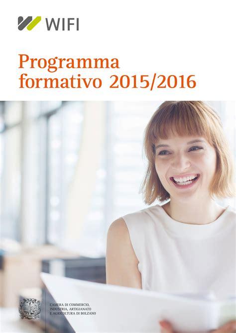commercio bz nuovo programma formativo wifi handelskammer bozen