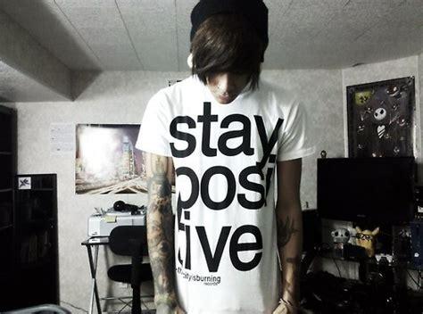 stay positive tattoo boy stay positive image 110023 on favim