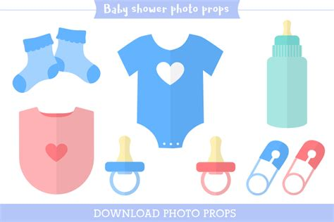 baby shower photo booth templates printable photo booth props props made easy