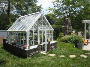build a green home small english greenhouses glasshouses victorian