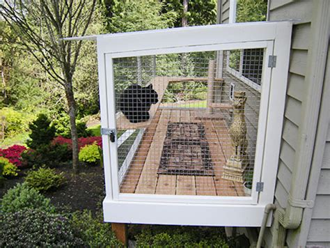 Diy Backyard Patio Catio Spaces Helps Cat Owners Build Safe Outdoor Havens