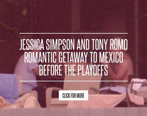 And Tony Romo Getaway To Mexico Before The Playoffs and tony romo getaway to mexico