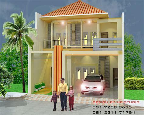 layout rumah kecil desain rumah dot