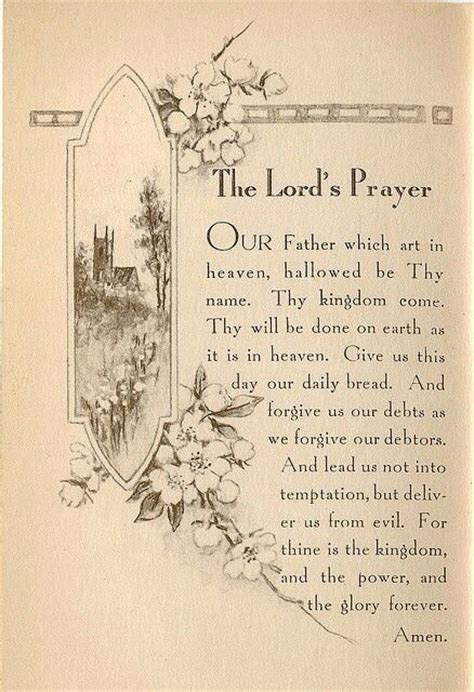 printable version of lord s prayer the lord s prayer inklings femina pinterest