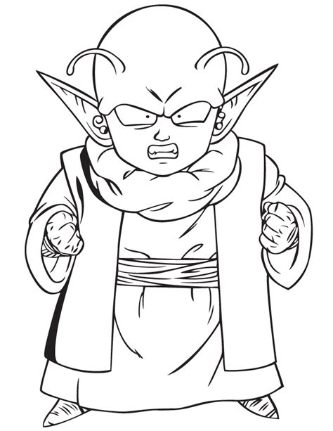 dragon ball character coloring page h m coloring pages dragon ball z dende coloring page h m coloring pages