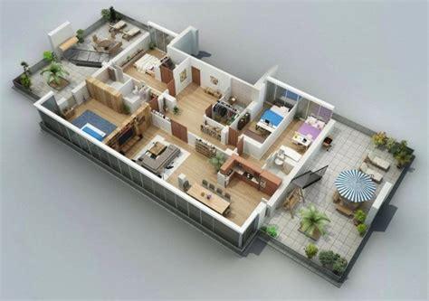 3d Home Garden Design Software Free by Planos De Casas Y Apartamentos En 3 Dimensiones