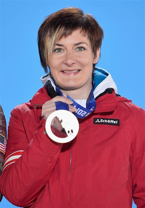 le zettel kathrin zettel photos medal ceremony winter olympics