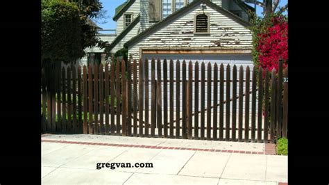 swinging driveway gate swinging driveway gate problems do it yourself tips