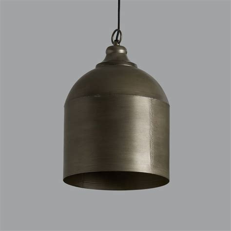 Tin Pendant Light Vintage Tin Pendant Light By Horsfall Wright Notonthehighstreet