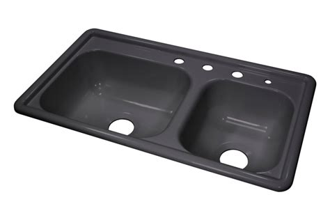 mobile home kitchen sink lyons dksr3 5 33 x19 mobile home acrylic kitchen sink 4 holes