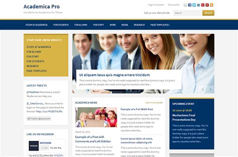 best templates for ngo website academica pro theme for education and ngo websites