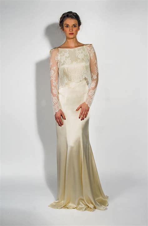 Valentina Dress ss14 bunty vintage inspired modern wedding dresses