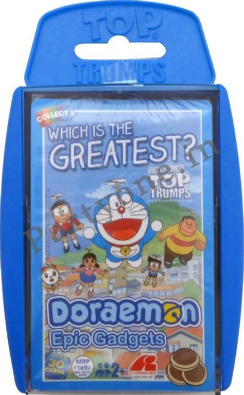 Returning A Gift Card - top trump cards in a case doraemon p1pc0005190 trump cards