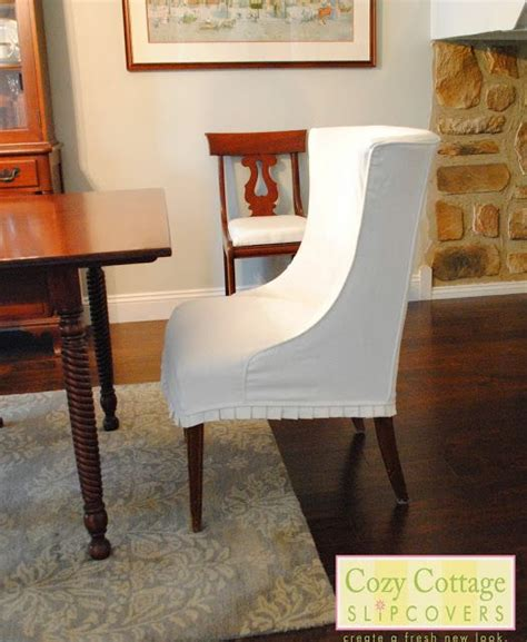 white dining room chair slipcovers the 25 best dining chair slipcovers ideas on pinterest