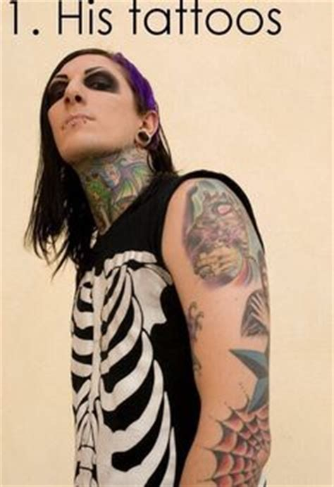 chris motionless tattoos chris motionless on motionless in white band