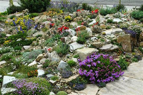 a rock garden build a rock garden corner