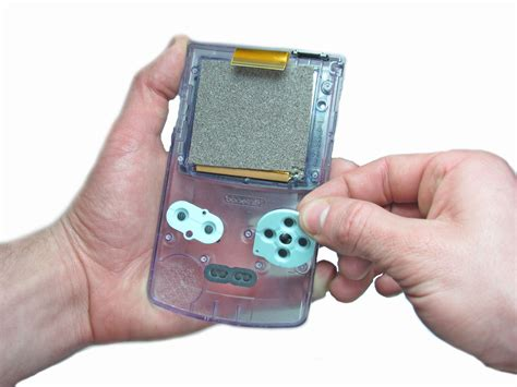 resetting gba games game boy color buttons replacement ifixit