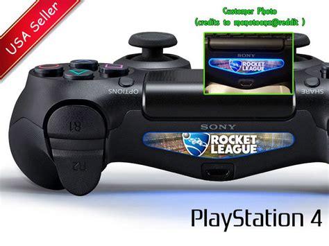 Ps4 Lightbar Aufkleber Selber Machen by 2 X Rocket League Ps4 Controller Lightbar Skin