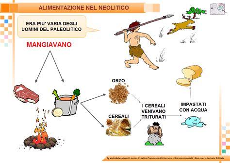 alimentazione uomini primitivi preistoria sc elementare aiutodislessia net