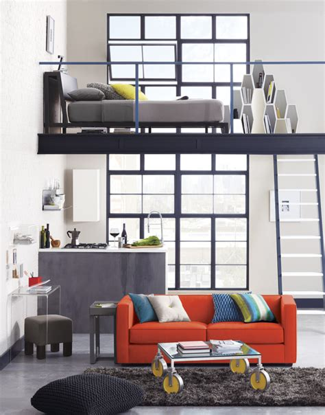 how to live in a small space how to live in small spaces idea central the cb2 blog