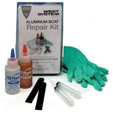 aluminum boat repair kit west system g flex 650 k aluminum boat repair kit west