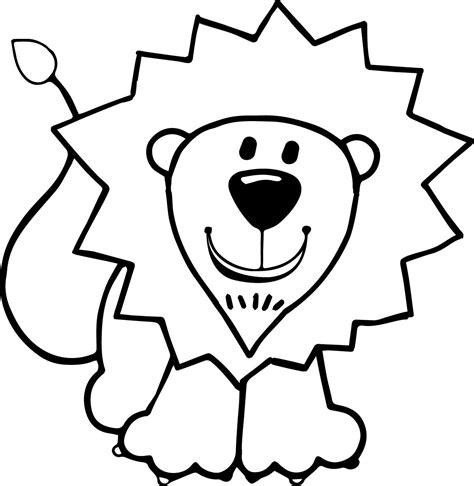 coloring pages lion 4163 kids lion coloring page wecoloringpage
